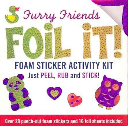 Foil It! Furry Friends By Peter Pauper Press (COR)